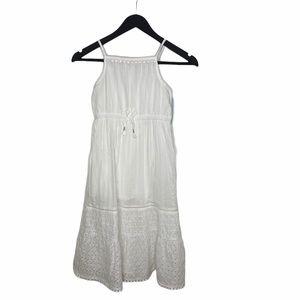 NWT! Cat & Jack Girl's White Dress